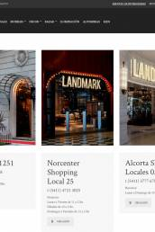 Landmark E-Commerce Website (Argentina)