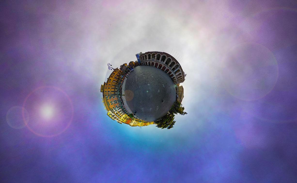 Verona mini planet